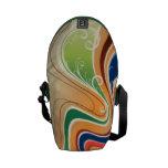 Abstract Art Mini Messenger Bag
