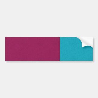 Abstract Art Modern Geometric Color Fields Retro Bumper Sticker