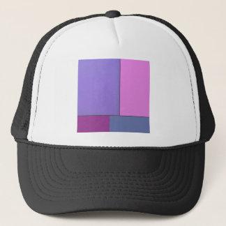 Abstract Art Modern Geometric Color Fields Retro Trucker Hat