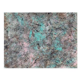 Abstract Art - Moss Postcard