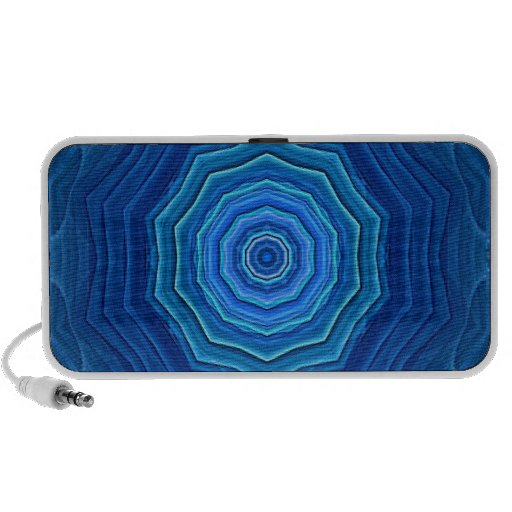 ABSTRACT ART MP3 SPEAKERS