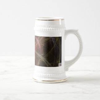Abstract Art New World Beer Stein