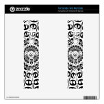 ABSTRACT ART NINTENDO WII REMOTE DECAL