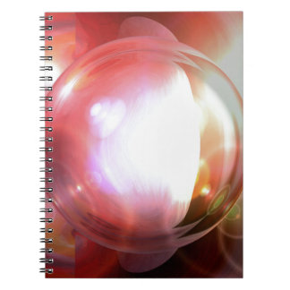 Abstract Art Spiral Note Books