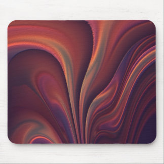 Abstract Art Orange Mouse Pad