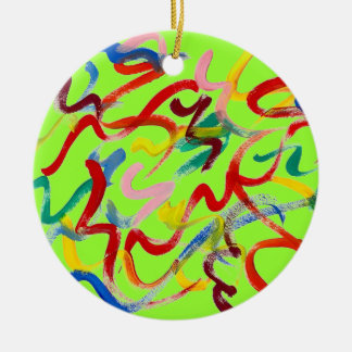 Abstract Art Ornament