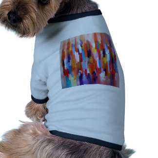 Abstract Art Paint Boxes Watercolor Pet Tee