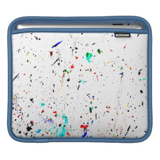 Abstract Art Paint Splashes and Spotty Sleeve For iPads