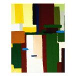 Abstract Art Painting Letterhead