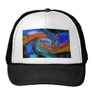 Abstract art painting posters cards t-shirts gifts trucker hat