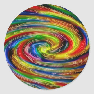 Abstract art painting posters cards t-shirts print round stickers