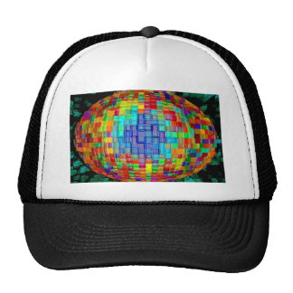 Abstract art painting posters t-shirts prints gift trucker hat