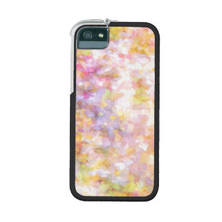 Abstract Art Pale Yellow Pastel Cover For iPhone 5