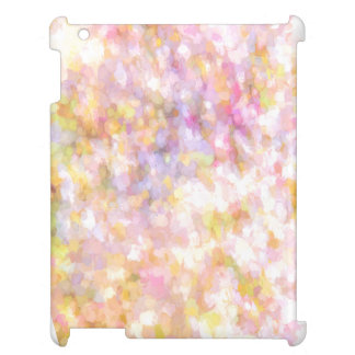 Abstract Art Pale Yellow Pastel Case For The iPad