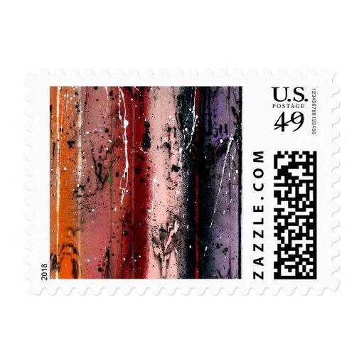 Abstract Art - Pandora Postage Stamp