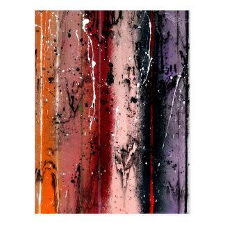 Abstract Art - Pandora Postcard