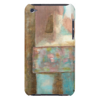 Abstract Art Pastel Painting Fantasy Castle Window iPod Touch Cover