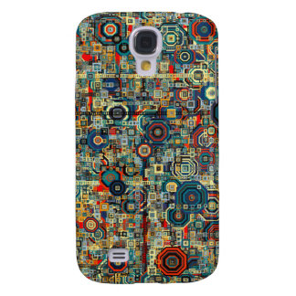 Abstract art pattern iphone case galaxy s4 case