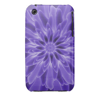 Abstract Art Periwinkle Flower iPhone 3 Cases