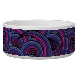 Abstract Art Pet Bowl