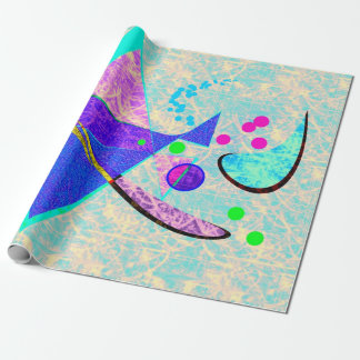 Abstract Art Photo Gloss Wrapping Paper