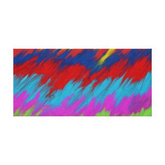Abstract art piece canvas print