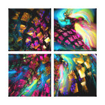 Abstract Art: Pieces Of A Dream Canvas Prints