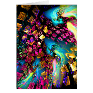 Abstract Art: Pieces Of A Dream Greeting Card