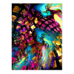 Abstract Art: Pieces Of A Dream Post Cards