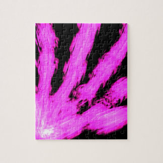 ABSTRACT ART PINK FLAIR DECORATIVE GIFTS PUZZLE
