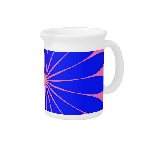ABSTRACT ART PITCHER