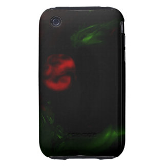 Abstract Art Planet Fumes Tough iPhone 3 Case