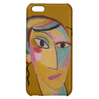 Abstract Art Portrait iPhone 5 Case