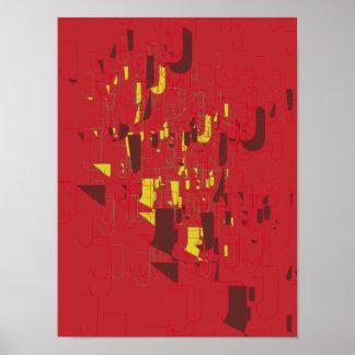 Abstract Art Poster J