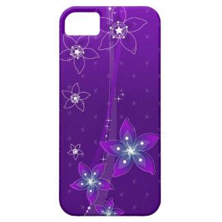 Abstract Art ( Purple Florist ) Iphone 4 Case