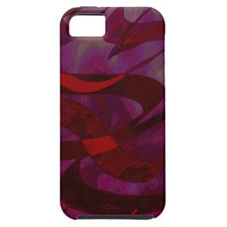 Abstract Art Purple Haze iPhone SE/5/5s Case