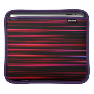 Abstract Art Purple Tubes iPad Sleeve