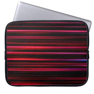 Abstract Art Purple Tubes Laptop Sleeve