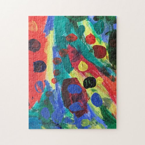 Abstract Art Puzzle