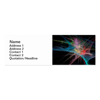 Abstract Art Rainbow Ice Business Card