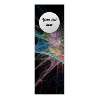 Abstract Art Rainbow Ice Business Card Templates