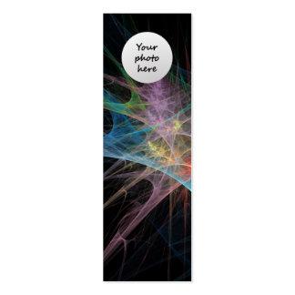 Abstract Art Rainbow Ice Business Cards