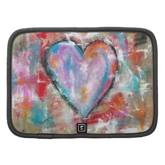 Abstract Art Reckless Heart Original Painting Planners