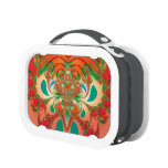 Abstract Art Red Owl Lunchboxes