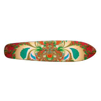 Abstract Art Red Owl Skate Boards