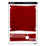 Abstract Art Ruby Red Xbox 360 S Skin