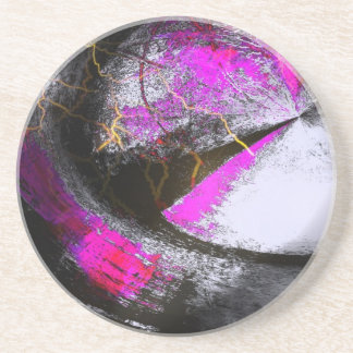 Abstract Art Sandstone Coaster