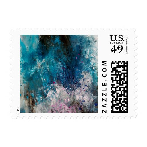 Abstract Art - Scelero Stamps