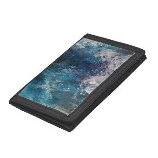 Abstract Art - Scelero Trifold Wallets