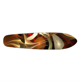 Abstract Art Custom Skateboard